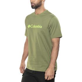 Columbia CSC Basic Logo Short Sleeve Shirt Men mosstone